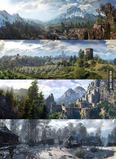 Witcher 3 Panoramas