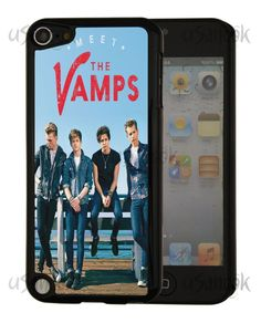 Fitted iPod Touch 5th Gen The Vamps British pop band Style Back Hard Case