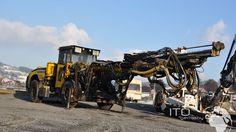 Used Rocket Boomer Atlas Copco L2C  http://www.ito-germany.de/atlas-copco-l2c-rocket-boomer-jumbo-bohrwagen-gebraucht-kaufen #atlascopco #bauma #boomer #baumaschinen #tunnel