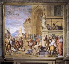 Triumph of Caesar c. 1520 by ANDREA DEL SARTO