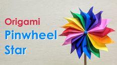 Modular Origami Tutorial: Pinwheel Star (Dáša Ševerová) - YouTube