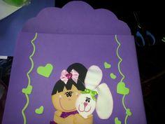 Carpeta hecha en Foami. cacereselena@hotmail.com