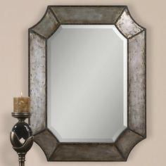 """Uttermost Ellio 32"""" H x 24"""" W Mirror"""