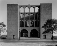 Church St Josef (1929-31) in Zabrze, Poland, by Dominikus Böhm