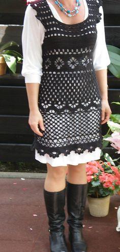 Ravelry: Häkelkleid im Stil von Mariella Burani pattern by Für Sie