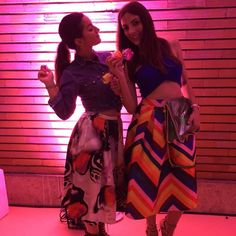 Rainbow at midnight!  @luisaviaroma #luisaviaroma #rainbow #exmanifattura #florence #firenze4ever Read here about Julia's Look. http://julialovesart.com/floral-skirt-look-summer/ #giuliaparigi #julialovesart | SHOP ONLINE ON: www.alteregodresstore.com | MAIN SITE: www.alteregodress.com . . .  #fashionblogger #alteregodress #fashion #outfits
