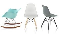 Eames Molded Plastic Chairs - More on Falynn's favorite Chairs #OUTINON