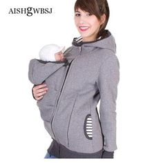 e265d727a7751 Baby Carrier Jacket Kangaroo Outerwear Hoodies Sweatshirts For Pregnant  Women Pregnancymodkily Maternity Jacket Winter, Maternity