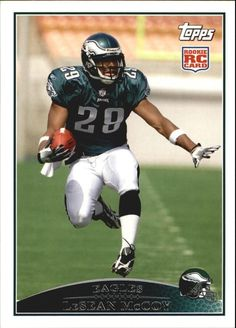 11743eecb 2009 Topps  400 LeSean McCoy RC mint from pack to holders
