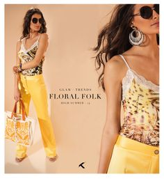 O amarelo reina soberano neste verão, e combinado a uma estampa linda assim, quem não gosta não é mesmo? Nós  #moikana #fashion