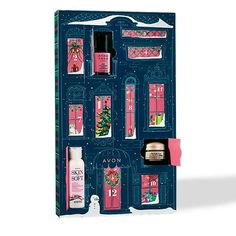Days of Christmas Beauty Calendar🎄🕊 Introducing a limited-edition iconic collection of holiday gifts inspired by Avon's rich heritage. I'D LOVE TO BE YOUR AVON SANTA💄💋 Singles Holidays, Holidays With Kids, Zoella, Eye Makeup Remover, Eyeshadow Makeup, Yellow Eyeshadow, Eyeshadow Palette, Beauty Calendar, Revolution Eyeshadow