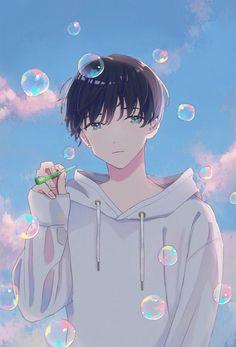 Artist : ゆゆ @hrmy801 Garçon Anime Hot, Cool Anime Guys, Fan Art Anime, Anime Art Girl, Anime Boy Smile, Art Anime Fille, Anime Poses, Handsome Anime, Boy Art