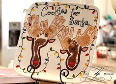 hand and feet reindeer