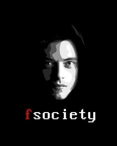 fsociety // Rami Malek // Mr. Robot