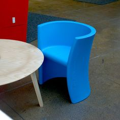 Trioli Chair Blue now featured on Fab.