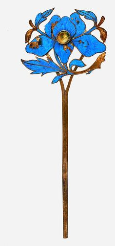 Kingfisher Hairpin (antique, Chinese)