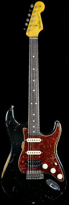 Wild West Guitars : Fender Custom Shop Limited Edition Heavy Relic Strat Black HSS