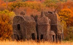 Art Made From Nature: Patrick Dougherty - Cool Like Pie
