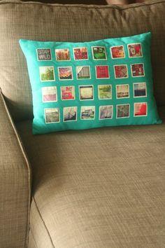 DIY Instagram Pillow