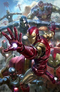 Iron Man fan art by Derrick Chew Arte Dc Comics, Marvel Comics Art, Marvel Comic Books, Marvel Fan, Marvel Characters, Marvel Heroes, Marvel Movies, Comic Books Art, Marvel Avengers