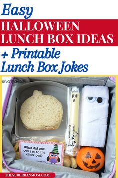 Kids are back to school! As moms, we want them to enjoy learning. These fun lunch box ideas are all the rage to add excitement. Check out the blog for more details on some Easy Halloween Lunch Box Ideas as well as some Printable Lunch Box Jokes! Brighten up the day of your toddler or preschooler with this fun DIY project! This DIY craft is so much fun to make, yet super in-season, considering it's almost Halloween as well! #halloweencrafts #halloweenactivities Halloween Crafts For Kids, Easy Halloween, Holidays Halloween, Party Activities, Halloween Activities, Cool Lunch Boxes, Cool Diy Projects, Jokes, Snacks