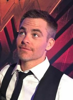 Chris Pine, WW after party