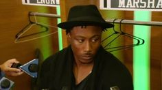 """Time for a New York Jets QB change? Brandon Marshall's not interested.  """"I am going down in the boat with Ryan Fitzpatrick."""" #SEAvsNYJ"""