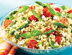 Quinoa, Chickpea, and Tomato Salad - Powered by @ultimaterecipe