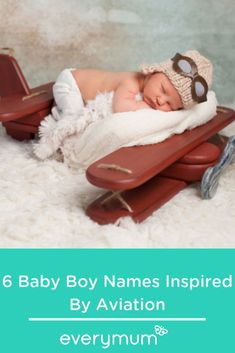6 Baby Boy Names Inspired By Aviation Celtic Baby Names, Irish Baby Names, Vintage Baby Names, Unique Baby Names, Celebrity Baby Names, Celebrity Babies, Name Inspiration, Popular Baby Names, Inventors
