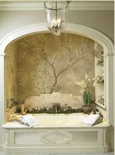 Trompe-l'oeil Bath