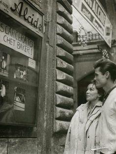 Chet Baker in Lucca (follow minkshmink on pinterest)