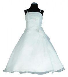 PC605 Kommunionkleid Cremeweiss Gr.104-170 - Abendkleider von Susanne Samtlebe®, Goslar