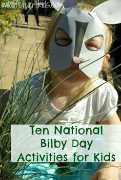 Celebrate and create awareness on Save the Bilby Day with these fun National Bilby Day activities. A FREE bilby mask included! 4 Kids, Art For Kids, Australia Crafts, Jungle Theme Classroom, Fun Diy Crafts, Kids Crafts, Australian Animals, Mask Party, Animal Crafts