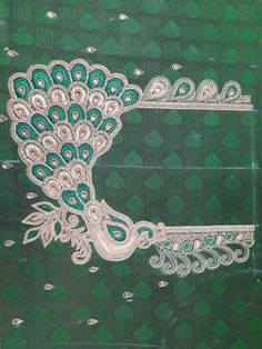 Peacock Blouse Designs, Peacocks, Sarees, Stitching, Costura, Peacock, Stitch, Peacoats, Sew
