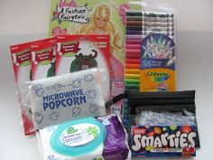 great ideas for a babysitting kit!   Perfect for the summer! Also add in a first aid kit for going to the park!
