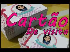 Como fazer cartões de visita em casa