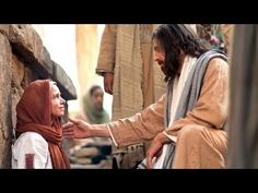 Jesus Heals a Woman of Faith. Click image to see videos on the life of Christ. Life Of Jesus Christ, Jesus Lives, Michael Jackson, Mormon Channel, Fear And Trembling, Believe, Why Jesus, Women Of Faith, Latter Day Saints
