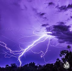 Crazy Lightning in Brisbane Australia this week