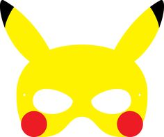 Pokemon Pikachu Mask                                                                                                                                                     More