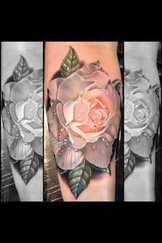 Obsessed with rose tattoos