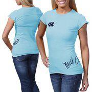 North Carolina Tar Heels (UNC) Ladies Alleviation Slim Fit T-Shirt - Carolina Blue