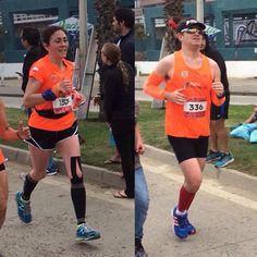 Felicitamos a Yanire Kunst (3:54:55) y Mauricio Halpern (4:19:08) quienes hoy en #MaratonViña sé graduaron de maratonistas