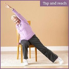 Physical activity is important when you have Diabetic foot pain or flexibility problems don't need to keep you from exercising. Grab a chair and take a seat for these simple stretches, low-impact strength exercises, and cardio moves. Senior Fitness, Yoga Fitness, Fitness Tips, Physical Fitness, Fitness Goals, Chair Exercises, Yoga Exercises, Fitness Exercises, Flexibility Workout