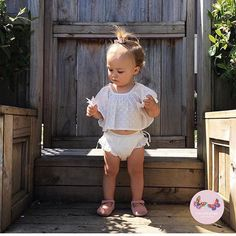 The beautiful Ruby in her Bay Set having fun in the weekend sunshine ☀️🌴🌸 Stand Tall, Beautiful Hands, Hand Stitching, Printed Cotton, Buy Now, White Shorts, Have Fun, Sunshine, Baby