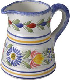 Quimper ~ Finistère  ~ Brittany ~ France ~ Quimper Pottery ~ Pitcher