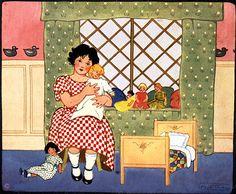 Bonecas, ilustração de Maud Taub.