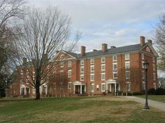Cushing Hall - Oldest dorm in the US that is still in use. Cushing 231 2007.