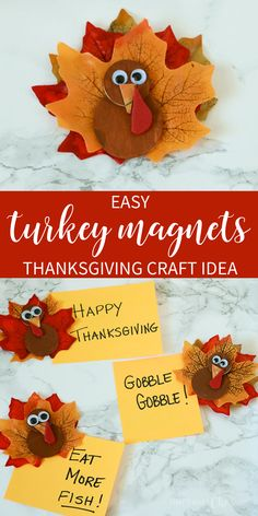 Thanksgiving Preschool, Easy Fall Crafts, Thanksgiving Crafts For Kids, Fun Crafts, Happy Thanksgiving, Thanksgiving Crochet, Thanksgiving Decorations, Halloween Decorations, Crafts For Seniors