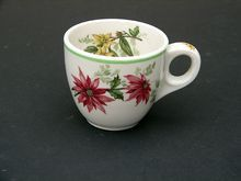 """Atlantic Coast Line RR """"Flora of the South"""" RRBS China Demitasse Cup"""