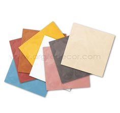 Plaquettes échantillons Badistuc (enduit à la chaux pour stuc ou badigeon) http://www.argiledecor.com/home/207-plaquette-nuancier-badistuc.html
